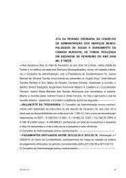 Ata 2013.02.19 - Câmara Municipal de Tomar