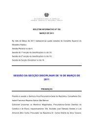 Boletim nº 198 - Conselho Superior do Ministério Público ...