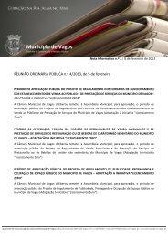 Nota Informativa n.º 2 de 5 de - Câmara Municipal de Vagos