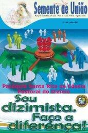 Paróquia Santa Rita de Cássia Pastoral do Dízimo - Paroquia Santa ...