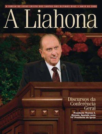 Maio de 2008 A Liahona