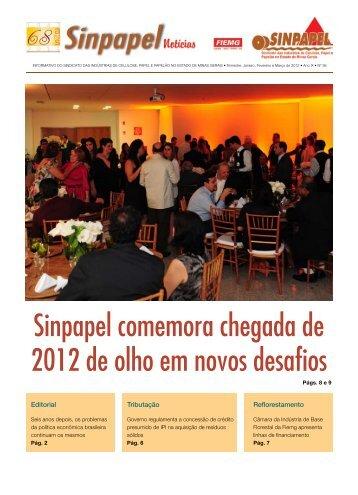Sinpapel comemora chegada de 2012 de olho em novos desafios