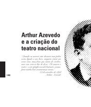 Arthur Azevedo e a criação do teatro nacional