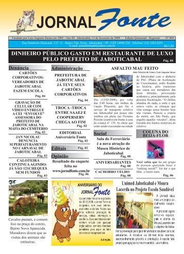 Edição 68 - Jornal Fonte