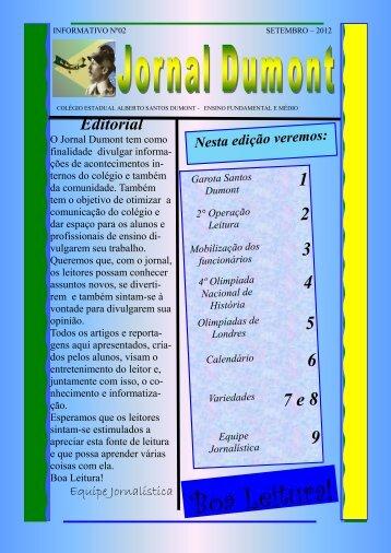 informativo nº02 / setembro - COLEGIO ESTADUAL ALBERTO S ...