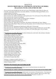 ACTA Nº 12.pdf - Câmara Municipal de Borba