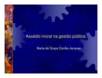 Maria da Graça Jacques - ABRH-RS