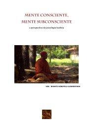 Mente consciente, - Sociedade Budista do Brasil