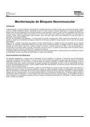 Monitorização do Bloqueio Neuromuscular - Sociedade Brasileira ...