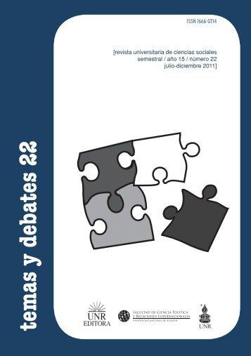 temas y debates 22 - del Centro de Documentación e Información ...