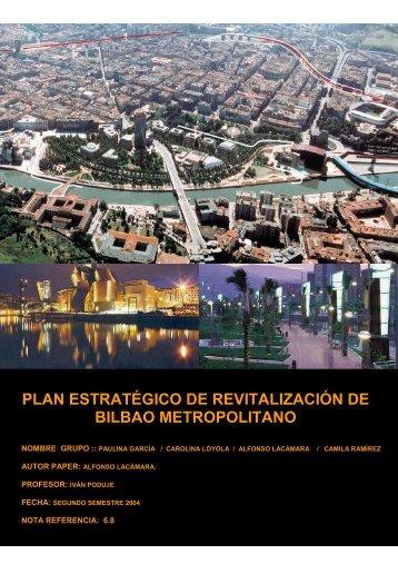 Plan Estratégico de Bilbao - Plataforma Urbana