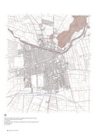Plano de Santiago 1910. Arquitectura, paisaje y ciudad ... - SciELO