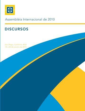 Discursos da assembleia internacional de 2010 - Rotary International