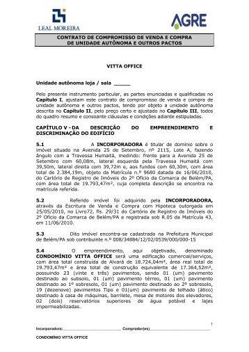contrato de compromisso de cessão de direitos - Leal Moreira