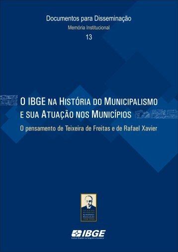 Teixeira de Freitas e Rafael Xavier - Biblioteca - IBGE