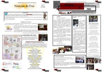 Ano III - Nº 8 (junho de 2009) - Externato Frei Luis de Sousa