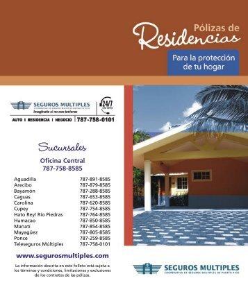 Sucursales - Cooperativa de Seguros Múltiples de Puerto Rico