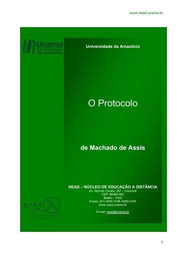 O Protocolo - Unama