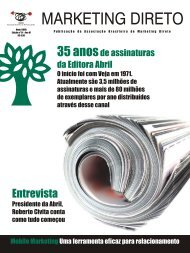 Revista Marketing Direto - Abemd