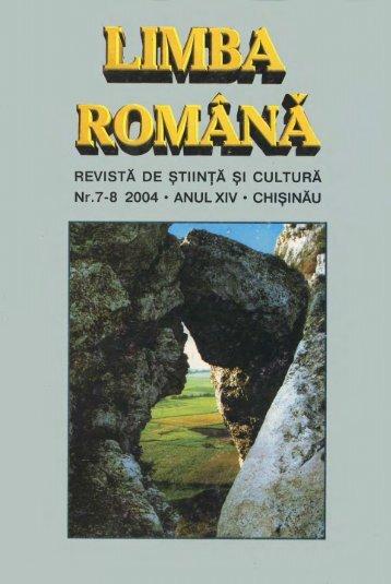 Untitled - Limba Romana