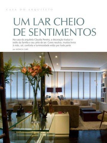 um lar cheio de sentimentos - Claudia Pereira Arquitetura   Curitiba