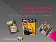 Transformações da Condição Feminina