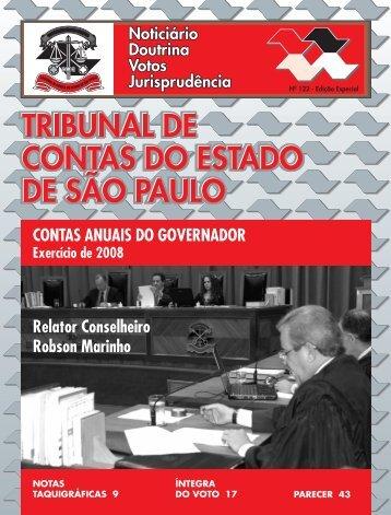 Edição 122 - Especial - Contas Anuais do Governador - Tribunal de ...