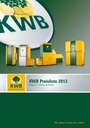 Pelletheizung KWB Easyfire - Jenni Energietechnik AG