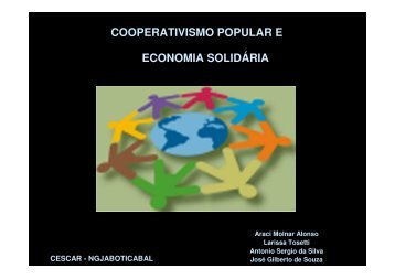 Apresentação Cooperativismo Popular e Economia Solidária - CDCC