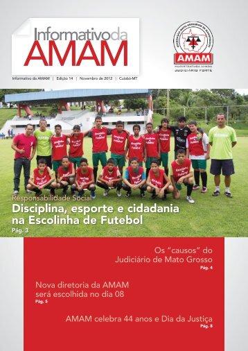 Edição do Mês de Novembro/2012 - Amam