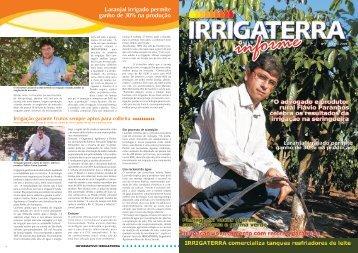 Informe IRRIGATERRA Número 5