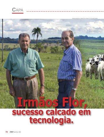 Irmãos Flor, sucesso calcado em tecnologia.