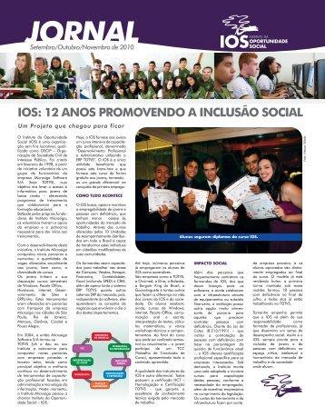 Jornal Trimestral – Edição de Setembro - Ios.org.br