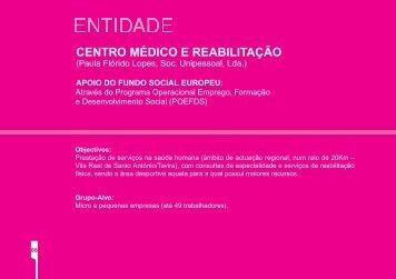 centro médico e reabilitação - Instituto de Gestão do Fundo Social ...