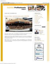 Blog - Cozinhas Profissionais - Klimaquip