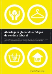 Abordagem global dos códigos de conduta laboral - Clean Clothes ...