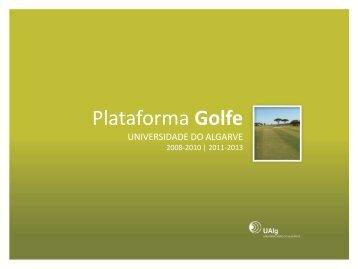 Plataforma Golfe no Apoio ao GK