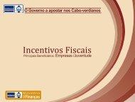 Incentivos Fiscais - Governo de Cabo Verde