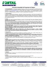 Contrato Abreu - Pontal Turismo