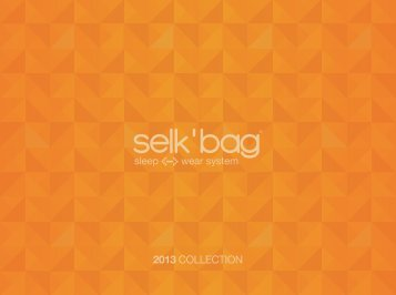 2013 COLLECTION - Selk'bag