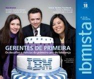 gerentes de primeira - Revista IBMista