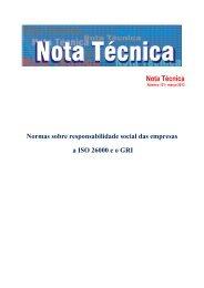 Normas sobre responsabilidade social das empresas - Dieese