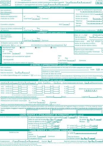 Formulaire cerfa opca pl for Formulaire cerfa 13409