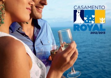 Casamento a bordo - Royal Caribbean International