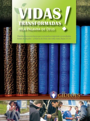Edição de Jun-Jul-Ago/2011 - Os Gideões Internacionais no Brasil
