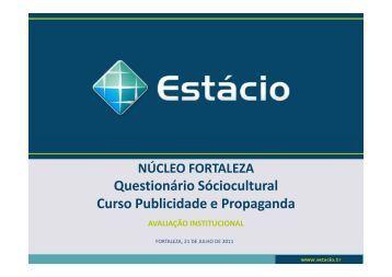 sociocultural publicidade e propaganda - Universidade Estácio de Sá