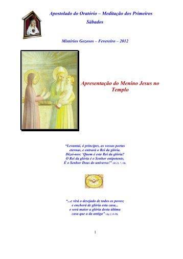 Apresentação do Menino Jesus no Templo - Arautos do Evangelho