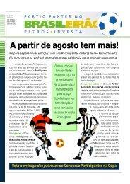 Participantes no Brasileirão - Petros