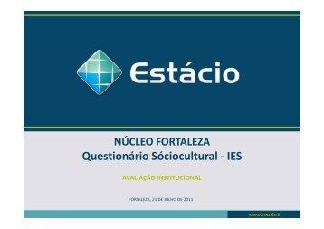 sociocultural IES - Universidade Estácio de Sá