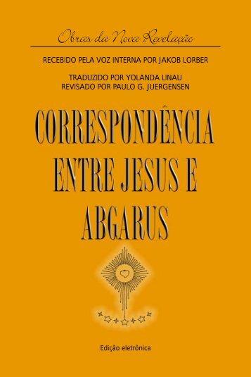 Correspondência Entre Jesus e Abgarus - União Neo-Teosófica
